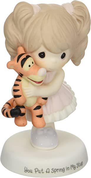 Precious Moments Disney Showcase Collection You Put A Spring In My Step Bisque Porcelain Figurine 163032
