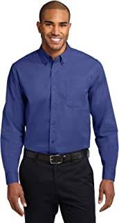 Port Authority Men's Tall Long Sleeve Easy Care Shirt