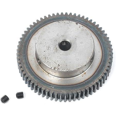 Number of Teeth : 1.5M 15T Bore 8mm BAIJIAXIUSHANG 1.5M Spur Gear 12T-60T Metal Transmission Gears 45 Steel Pinion 1.5 Mod 12 15 20 25 30 35 40 50 60 Teeth Motor Parts 1pc