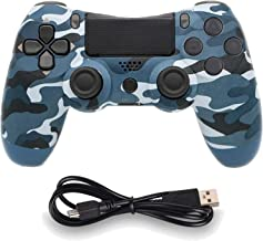 Best Wireless Controllers for PS4 Playstation 4 Dual Shock Six-axis,Bluetooth Remote Gaming Gamepad Joystick (Blue Camouflage) Review