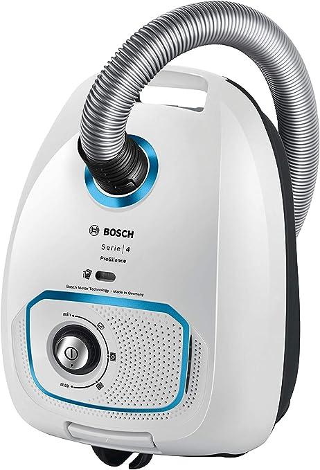 Bosch ProSilence - Aspirador con Bolsa, Blanco, 700 W: Amazon.es: Hogar