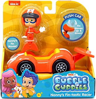Gils Fin-Tastic Racer Vehicle Set Bubble Guppies Gils Fin Moves! Fin Moves Up /& Down