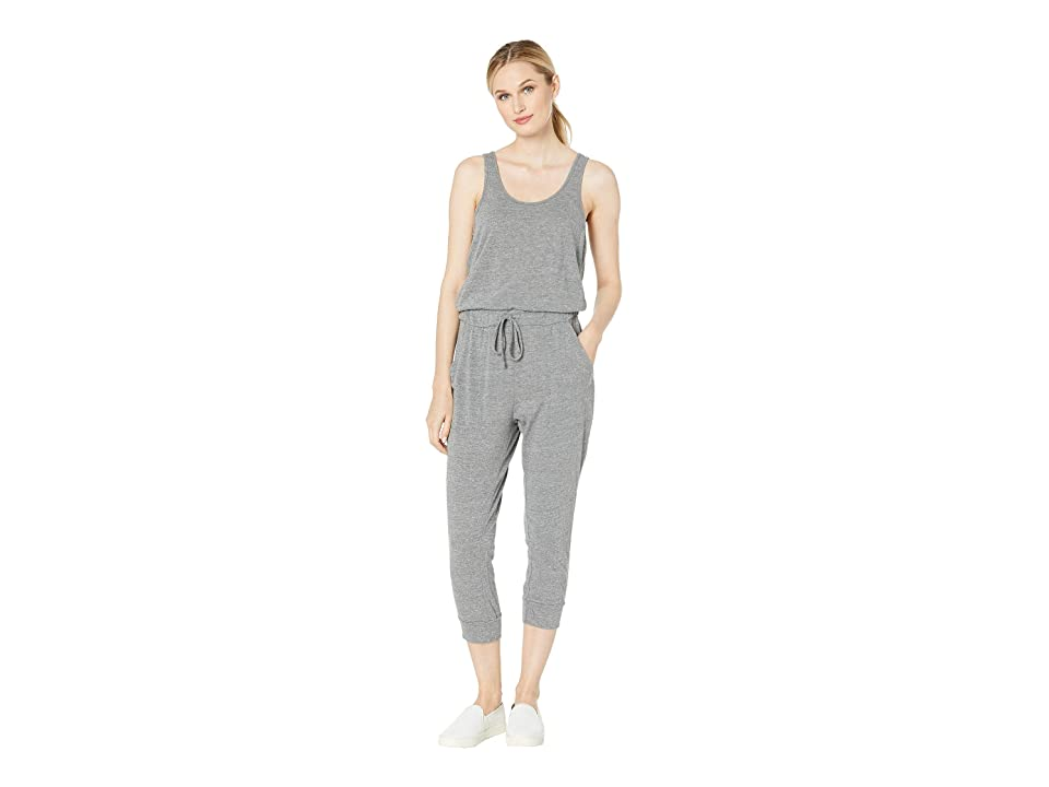 Alternative Cropped Lounge Eco Jersey Jumpsuit (Eco Grey) Women