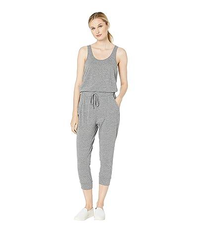 Alternative Cropped Lounge Eco Jersey Jumpsuit (Eco Grey) Women