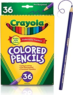 Crayola Colored Pencils Set, School Supplies,...