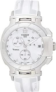 Tissot Men's White Dial Rubber Band Watch