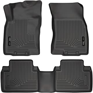 Husky Liners 98671 Black Weatherbeater Front & 2nd Seat Floor Liners Fits 2014-2019 Nissan Rogue