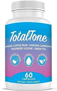 Total Tone Garcinia Pills forAdvanced Weight Loss -Burn Fat Quicker - Carb Blocker