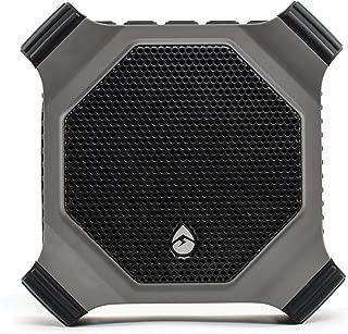 ECOXGEAR EcoDrift Rugged & Waterproof Wireless Bluetooth Speaker with Integrated Siri & Google Voice Control - Grey (Certified Refurbished)