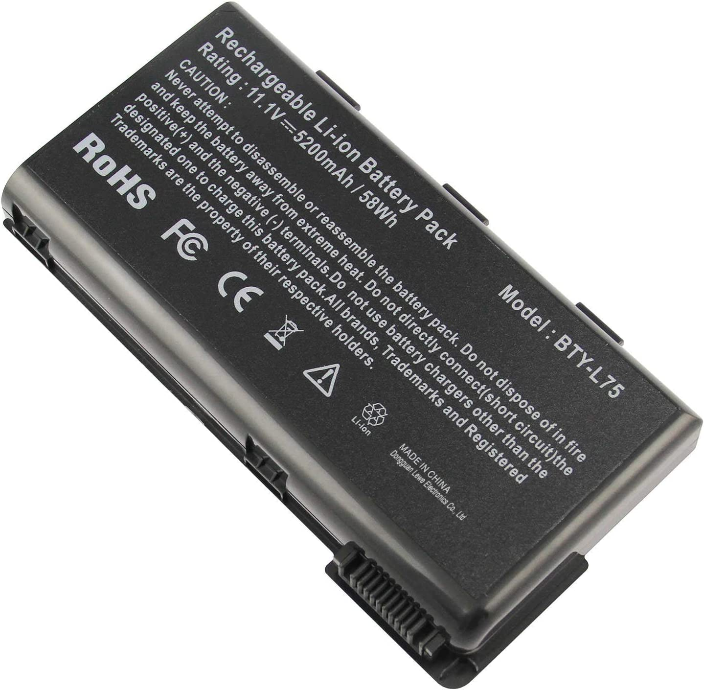 Ranking TOP12 Futurebatt Laptop Battery BTY-L74 BTY-L75 MSI for A6000 A5000 A6 Max 76% OFF