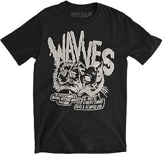 Men's Cynical Cats Slim Fit T-Shirt Black