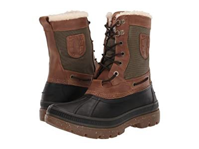 Sperry Ice Bay Tall Boot (Brown/Olive) Men