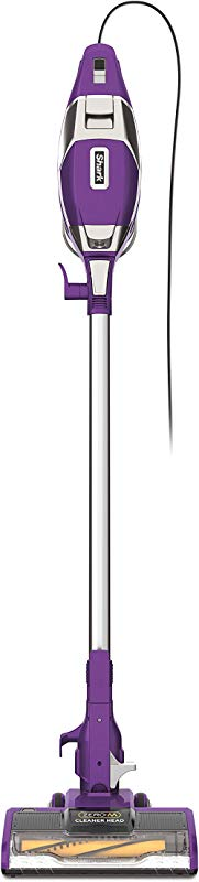 Shark Rocket Corded Ultra Light Vacuum With Zero M Anti Hair Wrap Technology XL Dust Cup Hand Vacuum Mode Swivel Steering ZS351 Plum Purple