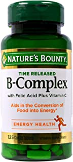 NATURES BOUNTY B-COMPLEX 125 TABLETS