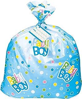 کیسه هدیه دوش کودک پلاستیک آبی جامبو پلاستیک آبی