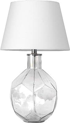 "nuLOOM Harrison 23"" Glass Table Lamp"
