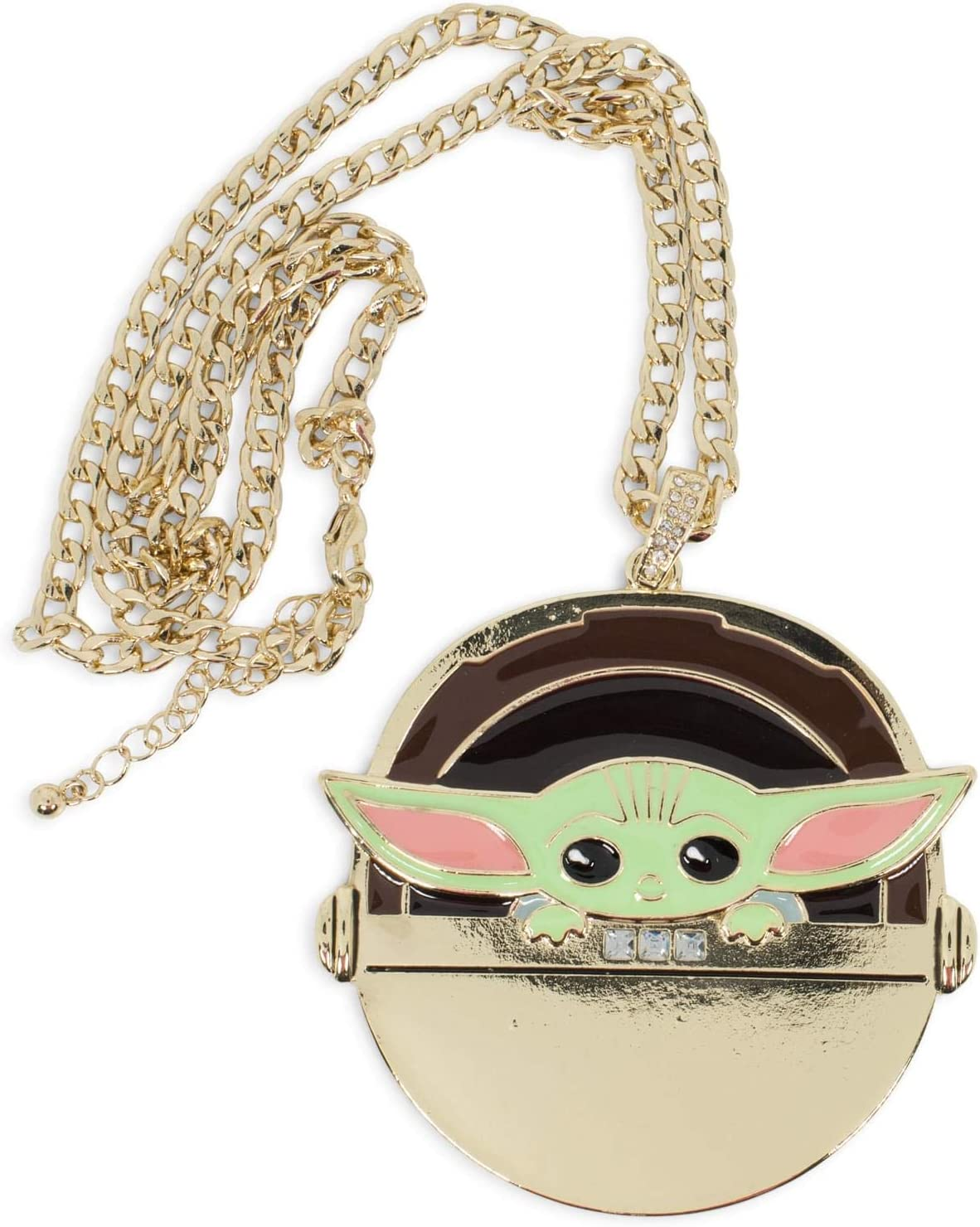 Toynk Star Wars The Mandalorian Baby Chain Carriage overseas in Shipping included Yoda Gold