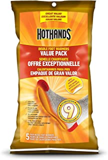HotHands Insole Foot Warmer, 10 Pair Value Pack
