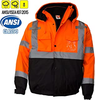 Best hi vis bomber jacket orange Reviews