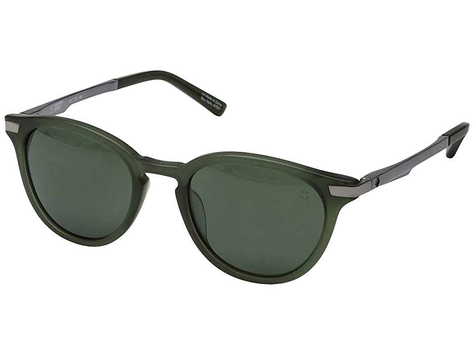 Spy Optic Pismo (Matte Translucent Seaweed/Happy Gray Green) Sport Sunglasses