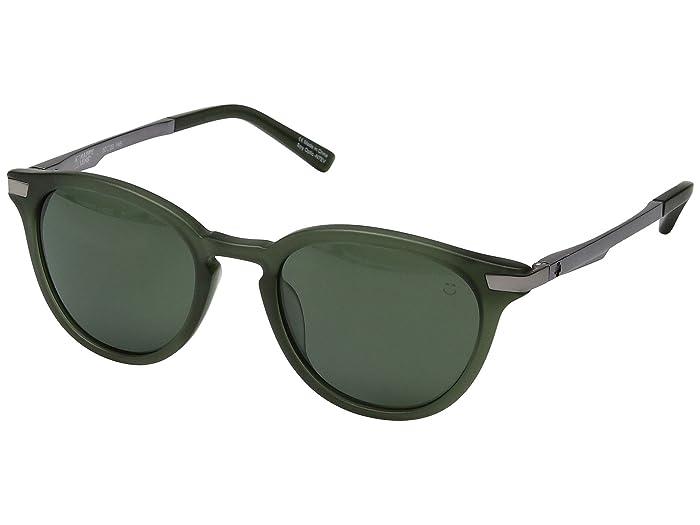 Spy Optic Pismo (Matte Translucent Seaweed/Happy Gray Green) Sport Sunglasses