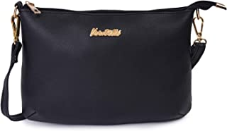 Verobelle Women Fashion Bag Purse Leatherite Small Sling Bag Outdoor Shoulder Crossbody Evening Sling Bag