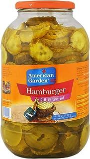 American Garden Hamburger Cucumber Slices Dill Flavored - 1.93 kg
