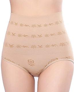 GLAMROOT Women's High Waist Seamless Body Shaper Tummy Control/Tummy Tucker Butt Lifter Panty Shapewear,Free Size