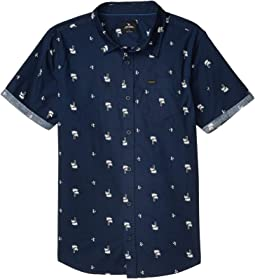 Palm Days Short Sleeve Shirt (Big Kids)