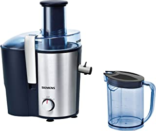 Siemens Stainless Steel Centrifugal Juice Extractor, Blue, ME35000GB, 1 Year Warranty
