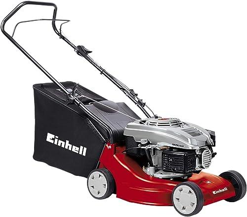 Einhell GH-PM 40 P - Cortacésped de gasolina (1600 Vatios, altura de corte 3 niveles | 32-62 mm , ancho de corte 40 c...