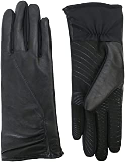 U|R Ur Powered Women's Leather & Stretch Touchscreen Gloves