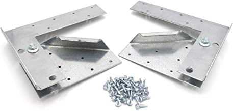 """Hinge Kit for Restaurant Canopy Hood Exhaust Fan (Used on Fans with wheels 20"""" or smaller or Fans with bases of 28"""" or smaller)"""