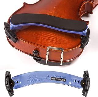Everest 1/4-1/10 Violin ES Purple Shoulder Rest