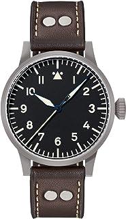 Laco - Reloj de Aviador Original Mülheim an Der Ruhr de Laco – Fabricado en Alemania – 39 mm de diámetro – Reloj automático Calidad única – Acabado excepcional – Resistente al Agua