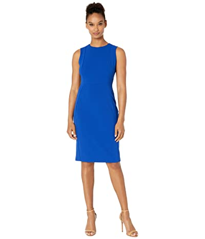 Calvin Klein Solid Sheath Dress (Regatta) Women