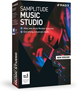 MAGIX Samplitude Music Studio - Version 2019 - the Complete Software Studio For Composing, Recording, Mixing and Mastering