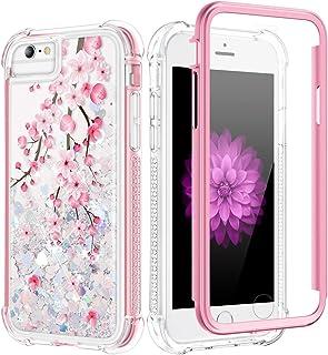 Caka - Carcasa para iPhone SE 2020, iPhone 6 6S 7 8 con purp