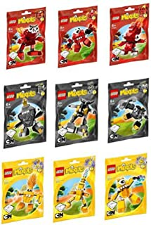 LEGO Mixels Series 1 Complete Set of All Figures/Characters
