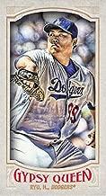 Hyun-Jin Ryu 2016 Gypsy Queen Mini Variations #44 Dodgers