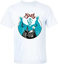 XTOTO Men's Ghost Meliora Bill Murray Ghost BC Cirice Cool T-shirts white L