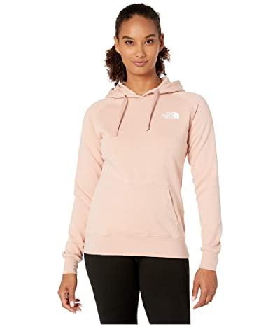 The North Face Red Box Pullover Hoodie (Misty Rose/TNF White) Women