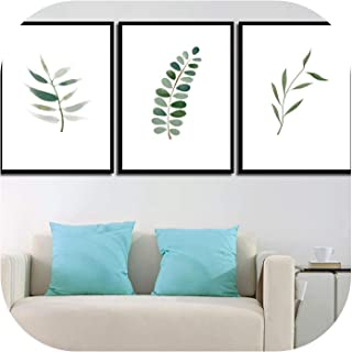 Watercolor A4 Art Prints Hipster Pictures Nordic Style Canvas Wall Fresh Painting Kids Room Home Decor,20x25cm No Frame,ASD898