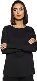 Enamor Women's Plain Regular fit T-Shirt