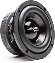 "Skar Audio EVL-65 D4 6.5"" 400 Watt Max Power Dual 4 Ohm Car Subwoofer"