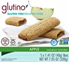 Glutino Gluten Free Breakfast Bars, Apple, 5 Count