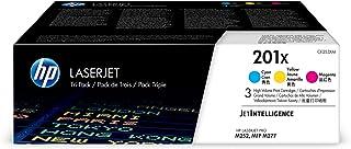 Best HP 201X | CF401X, CF402X, CF403X | 3 Toner Cartridges | Works with HP Color LaserJet Pro M252dw, M277 series | Cyan, Yellow, Magenta | High Yield Review