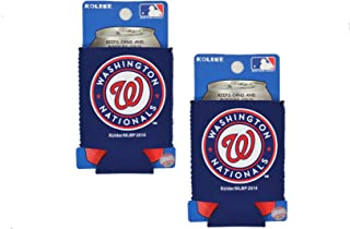 Official Major League Baseball Fan Shop Authentic 2-Pack MLB Insulated 12 Oz Can Cooler