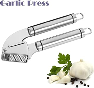 Mine Stainless Steel Garlic Press