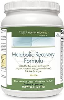 Metabolic Recovery Formula Vanilla   Gastrointestinal, Hepatic and Intestinal Support*   26g Vegan Protein   Non-GMO Pea/Rice   MeadowPure, Aminogen® & Quatrefolic®